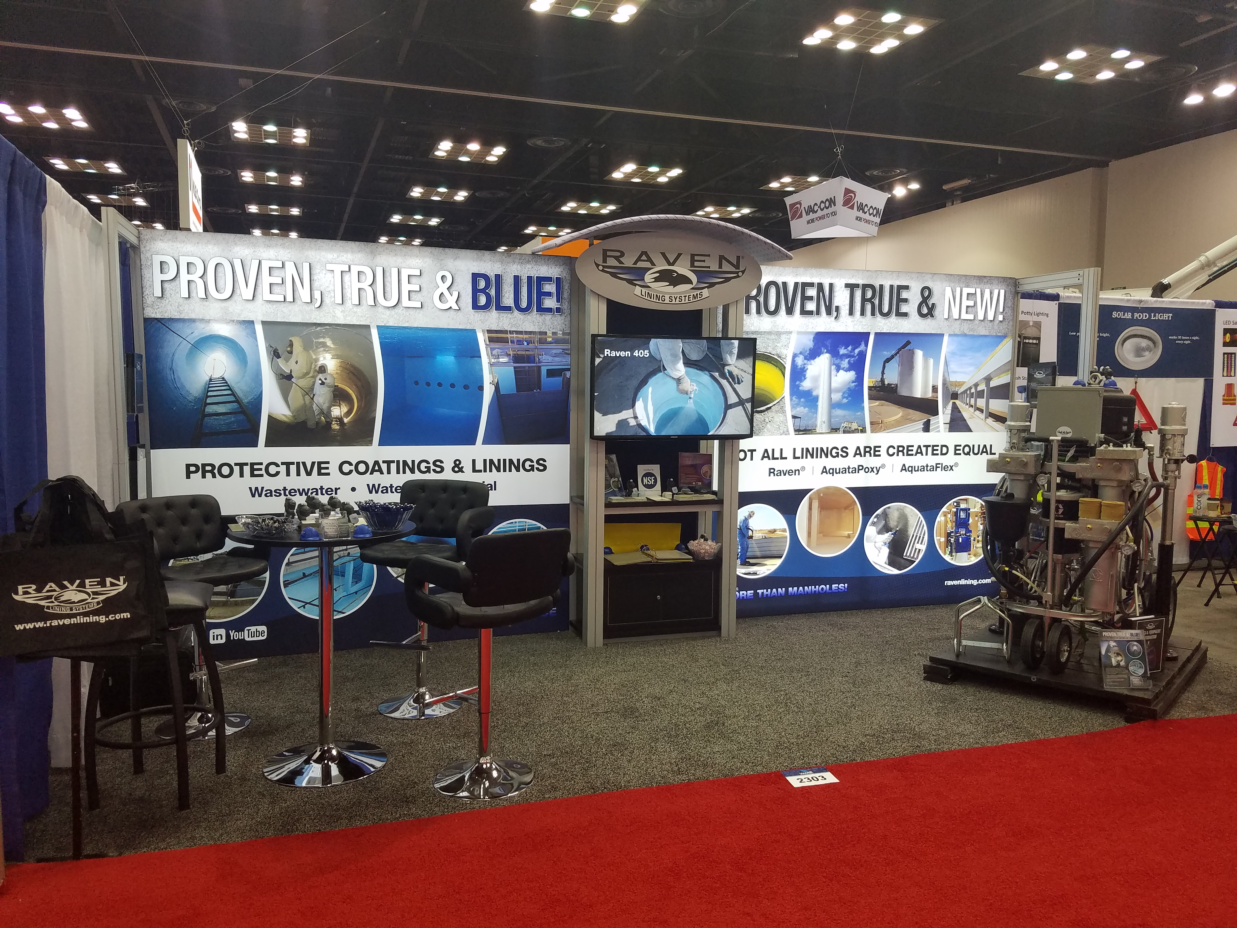 Raven Lining Systems Tradeshows Raven Lining Systems